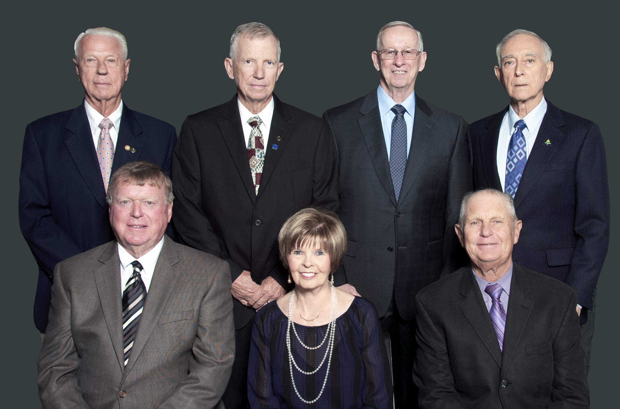 Group shot of the Board of Directors.