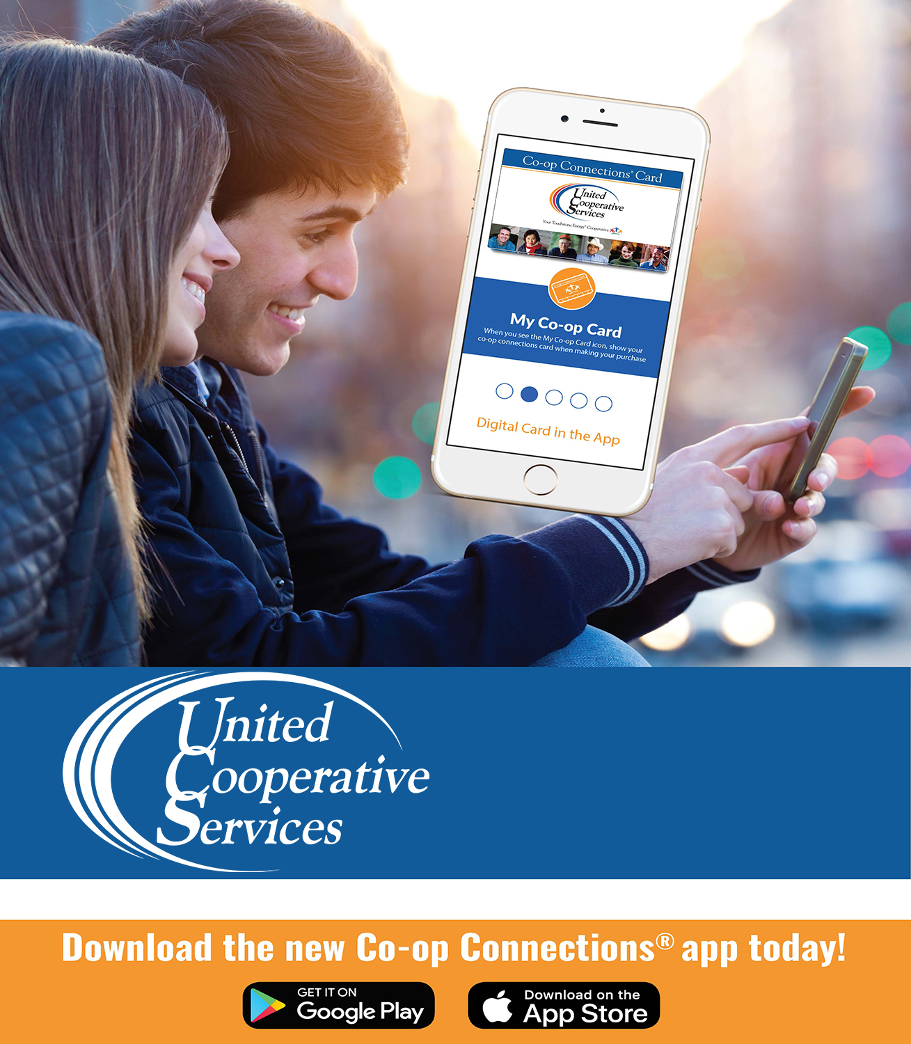 Coop connections mobile app