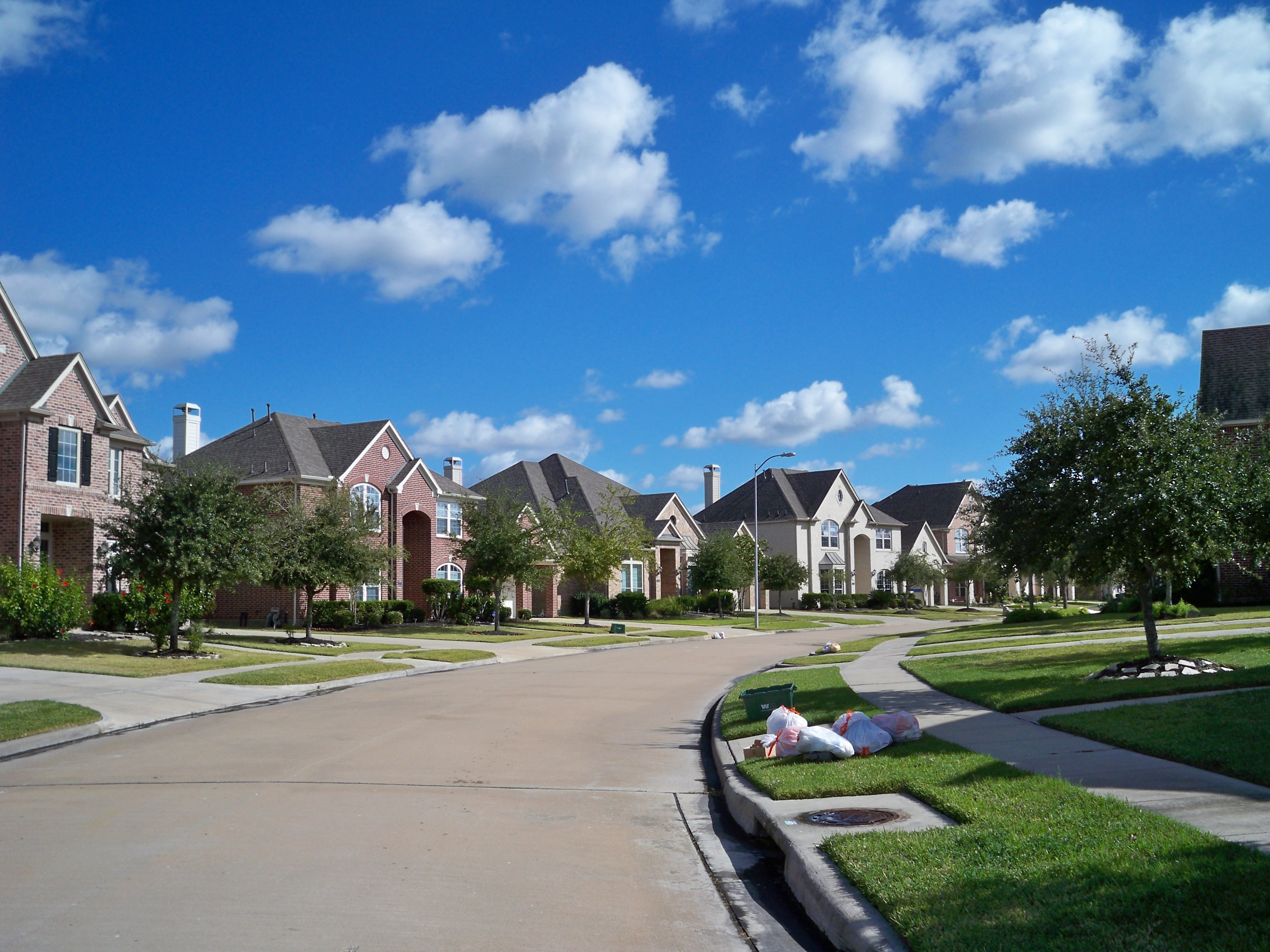 Texas neighborhood