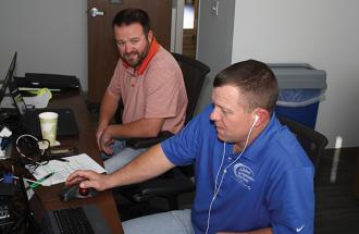 Wes Burton learns about SCADA.